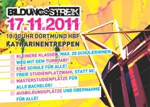 Streik-Flyer 2011